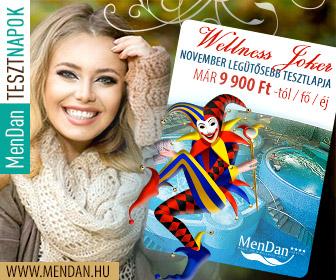 TesztnapokNovember 336x280 adwords Wellness Hotel MENDAN TESZTNAPOK   9.900 Ft / fő / éj től aktualis hirek