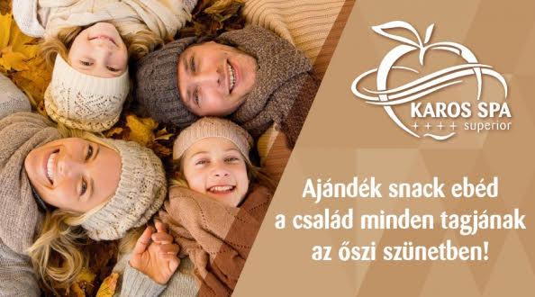 karosspa2 Hotel Karos Spa   Őszi gasztró kalandok, ajándék snack ebéd, 4=5 éj akció aktualis hirek