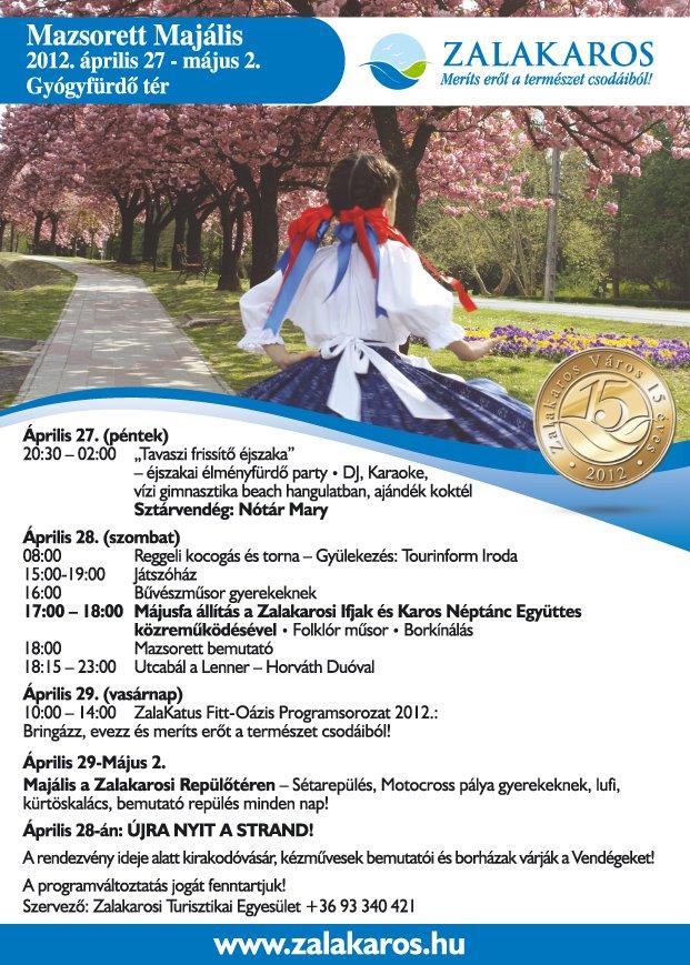 majus 1 Majális fesztivál Május 1 programok rendezvények aktualis hirek